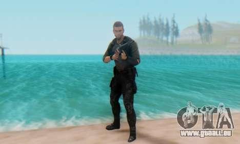 Sam Fisher - Paladin Outfit (Splinter Cell Black pour GTA San Andreas cinquième écran