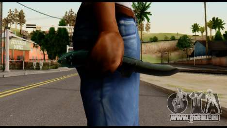Solidsnake CQC Knife from Metal Gear Solid für GTA San Andreas dritten Screenshot