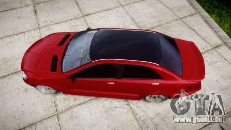 GTA V Benefactor Schafter body wide rims pour GTA 4 est un droit