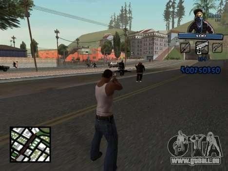 C-HUD Unique Ghetto für GTA San Andreas