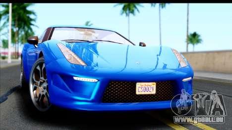 GTA 5 Grotti Carbonizzare v3 für GTA San Andreas