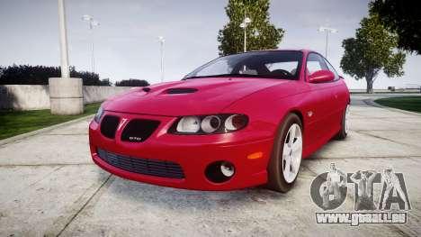 Pontiac GTO 2006 18in wheels für GTA 4