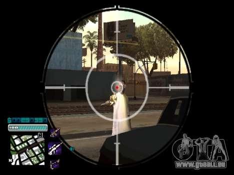 Beautiful C-HUD pour GTA San Andreas deuxième écran