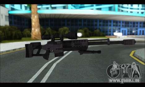 Raab KM50 Sniper Rifle From F.E.A.R. 2 pour GTA San Andreas sixième écran