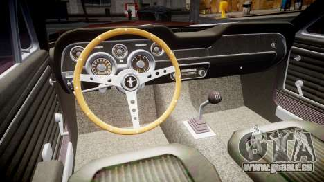 Ford Mustang GT Fastback 1968 pour GTA 4