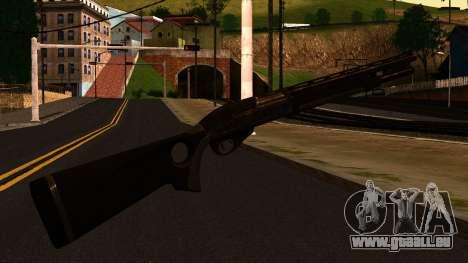 Shotgun from GTA 4 für GTA San Andreas zweiten Screenshot