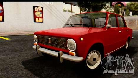 VAZ 2101 Zhiguli pour GTA San Andreas vue arrière