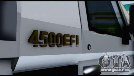 Toyota Land Cruiser Macho Pick-Up 2007 4.500 für GTA San Andreas Rückansicht