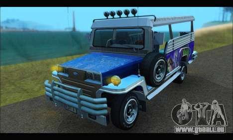 Jeepney from Binan pour GTA San Andreas