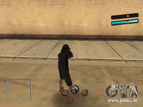 C-HUD Azure für GTA San Andreas