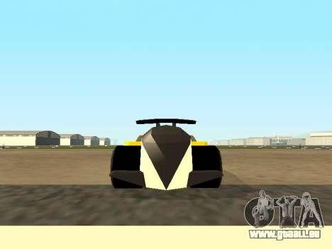 RC Bandit (Automotive) pour GTA San Andreas sur la vue arrière gauche