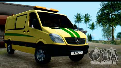 Mercedes-Benz Sprinter De La Collection De La Ru pour GTA San Andreas