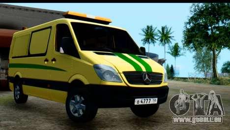 Mercedes-Benz Sprinter De La Collection De La Ru pour GTA San Andreas