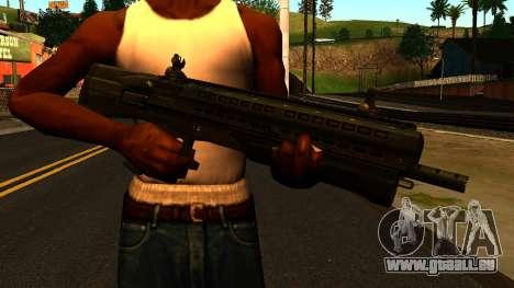 UTAS UTS-15 from Battlefield 4 pour GTA San Andreas troisième écran