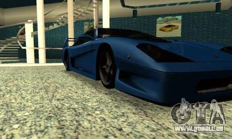 HD Turismo für GTA San Andreas rechten Ansicht