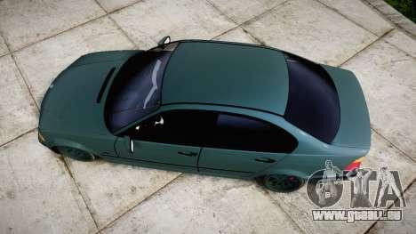 BMW E46 M3 2000 pour GTA 4 est un droit