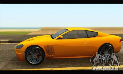 Ocelot  F620 (GTA V) für GTA San Andreas linke Ansicht