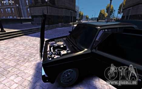 VAZ 2107 für GTA 4 rechte Ansicht