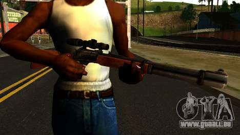 Marlin Model 1895 from Gotham City Impostors für GTA San Andreas dritten Screenshot