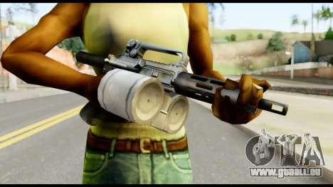 Patriot from Metal Gear Solid pour GTA San Andreas troisième écran