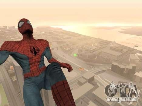Spiderman 3 Crawling für GTA San Andreas dritten Screenshot