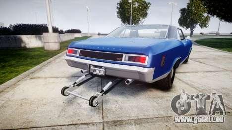 GTA V Albany Buccaneer Little Wheel pour GTA 4 Vue arrière de la gauche