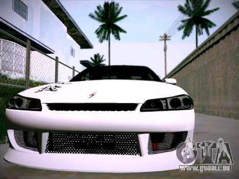 Nissan Silvia S15 Roux pour GTA San Andreas vue arrière