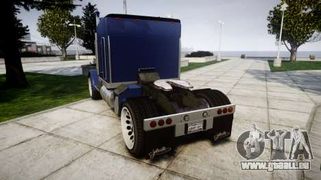 JoBuilt Phantom Drift pour GTA 4 Vue arrière de la gauche