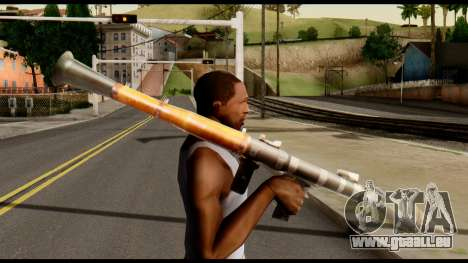RPG7 from Metal Gear Solid für GTA San Andreas dritten Screenshot