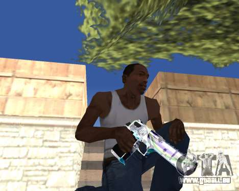 Graffity weapons für GTA San Andreas sechsten Screenshot