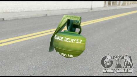 MGS1-2 Grenade from Metal Gear Solid pour GTA San Andreas