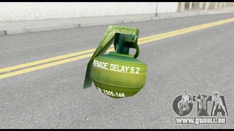 MGS1-2 Grenade from Metal Gear Solid für GTA San Andreas dritten Screenshot