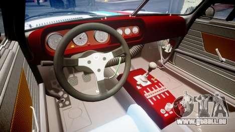 BMW 3.0 CSL Group4 [28] pour GTA 4 est une vue de l'intérieur