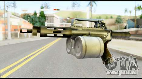 Patriot from Metal Gear Solid pour GTA San Andreas