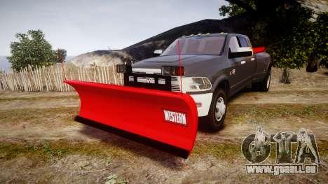 Dodge Ram 3500 Plow Truck [ELS] pour GTA 4