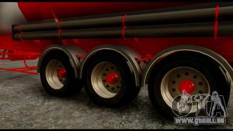 Mercedes-Benz Actros Trailer ND pour GTA San Andreas vue de droite