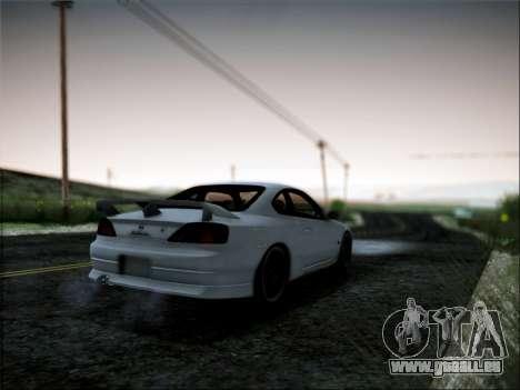 Nissan Silvia S15 Roux pour GTA San Andreas laissé vue
