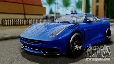 GTA 5 Dewbauchee Massacro Racecar pour GTA San Andreas