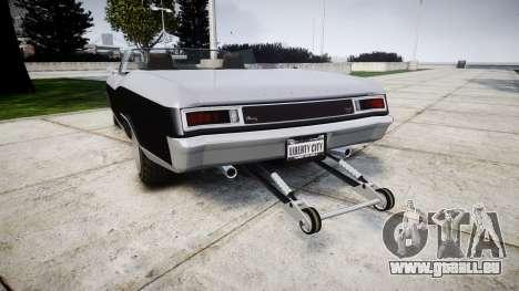 GTA V Albany Buccaneer paint2 pour GTA 4 Vue arrière de la gauche