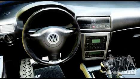 Volkswagen Golf MK4 R32 Stance v1.0 pour GTA San Andreas vue de droite
