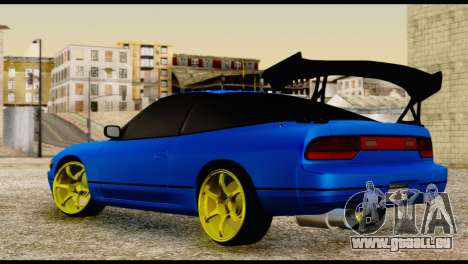 Nissan Silvia S13 Sileighty Drift Moster für GTA San Andreas linke Ansicht
