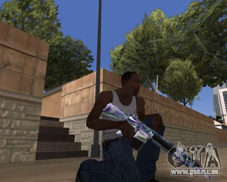 Graffity weapons pour GTA San Andreas