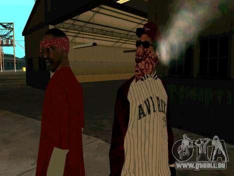 Doggers Gang für GTA San Andreas dritten Screenshot