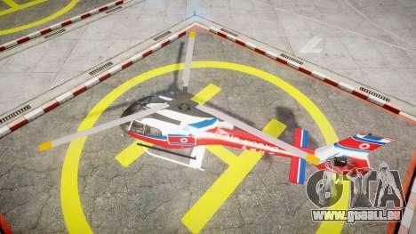 Eurocopter EC130 B4 Air Koryo für GTA 4 rechte Ansicht