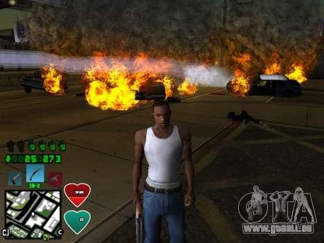 C-HUD Classic v4.1 pour GTA San Andreas deuxième écran