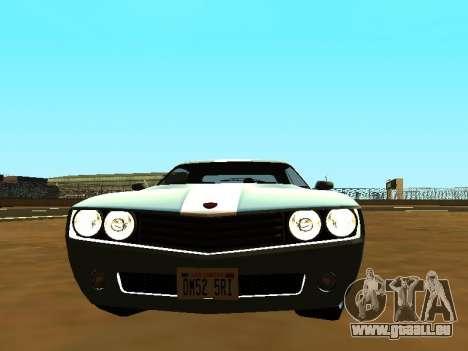 GTA 5 Bravado Gauntlet pour GTA San Andreas vue de droite