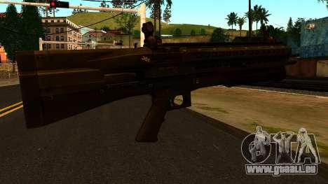 UTAS UTS-15 from Battlefield 4 pour GTA San Andreas deuxième écran