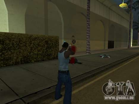New Effects Pack White Version für GTA San Andreas achten Screenshot