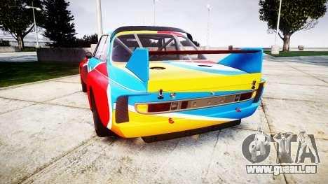 BMW 3.0 CSL Group4 1973 Art für GTA 4 hinten links Ansicht