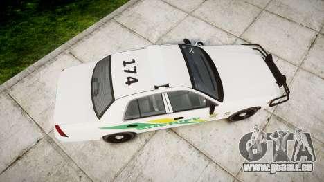 Ford Crown Victoria Martin County Sheriff [ELS] für GTA 4 rechte Ansicht